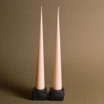 Ivory & Iron Home & Lifestyle Shop - BEESWAX CONE TAPER CANDLE SET